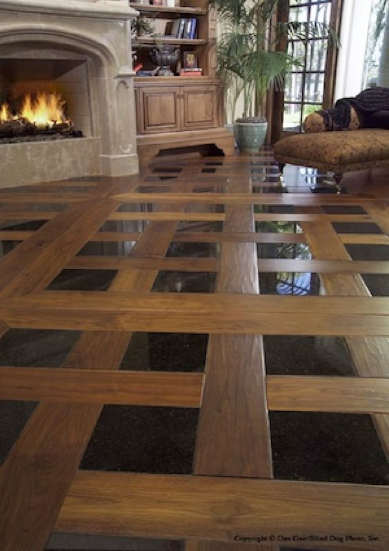 Mixed-Media Floors | Discount Flooring Blog