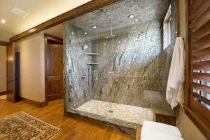 traditional-bathroom-with-granite-shower-and-tile-floor