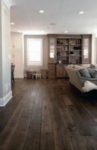 wide wood floors