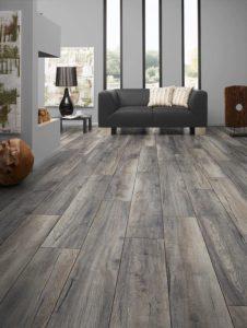 grey wood floors